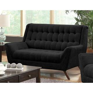 Natalia Loveseat Black
