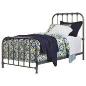 Nashburg Twin Metal Bed