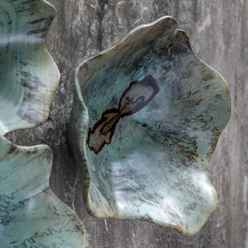 Teo Wood Wall Decor, S/3