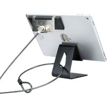 Tablet Security Kiosk Kit with Display Stand and Locking Cable