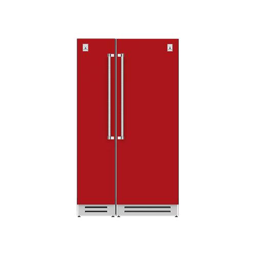 "Hestan - 48"" Column Freezer (L) and Refrigerator ® Ensemble Refrigeration Suite - Matador"