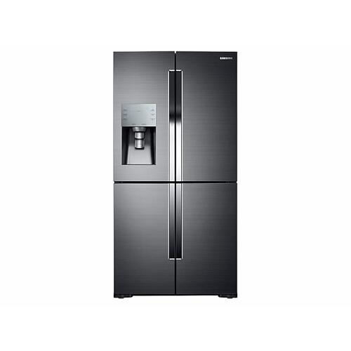 28 cu. ft. 4-Door Flex™ Refrigerator with FlexZone™ in Black Stainless Steel