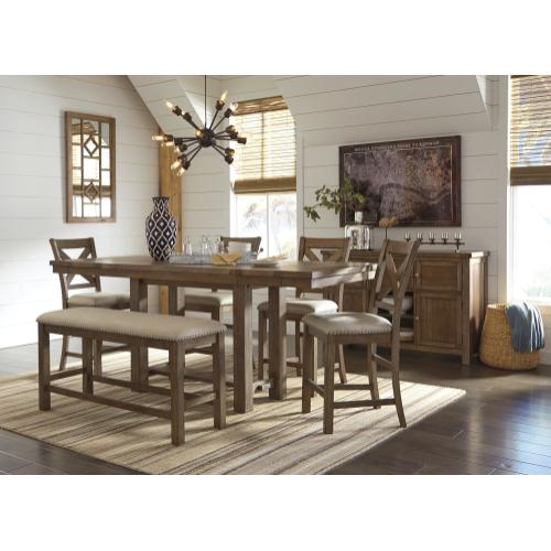 Moriville Counter Height Dining Extension Table