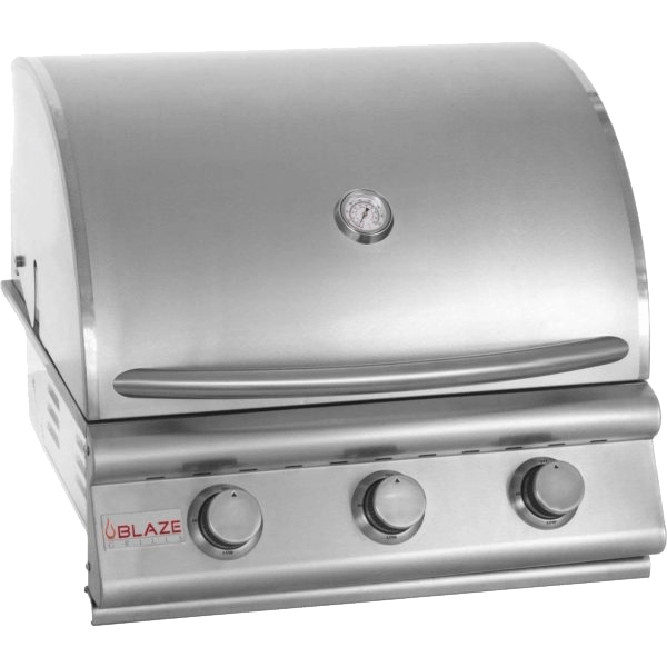 """Blaze GrillsPrelude Lbm 25"""" 3-Burner Gas Grill, With Fuel Type - Natural Gas"""
