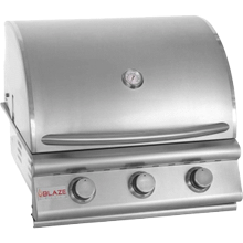 "Prelude LBM 25"" 3-Burner Gas Grill, With Fuel type - Propane"