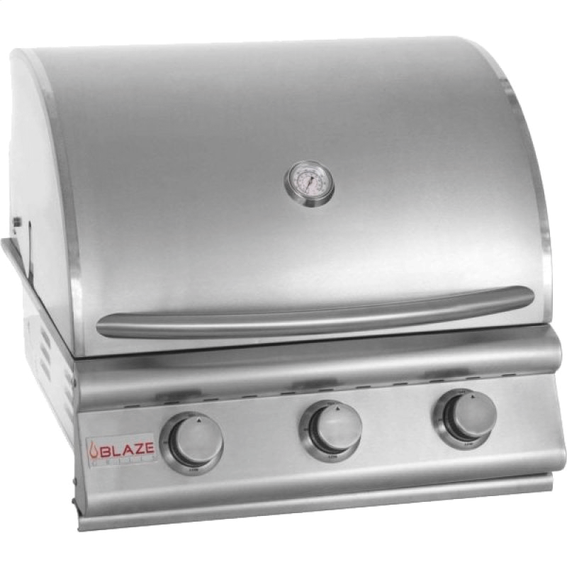 """Prelude LBM 25"""" 3-Burner Gas Grill, With Fuel Type - Natural Gas"""
