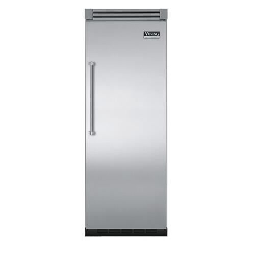 "Viking - Stainless Steel 30"" Quiet Cool™ All Refrigerator - VIRB Tru-Flush™ (Right Hinge Door)"