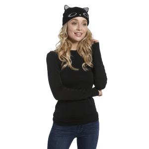 Hey Kitty Knit Hats (6 pc. ppk.)