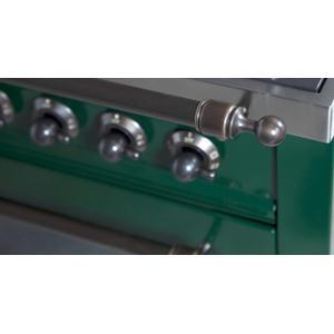30 Inch Emerald Green Natural Gas Freestanding Range