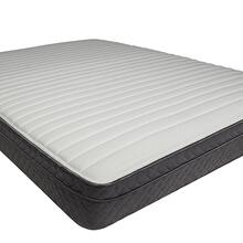 "Queen-Size Campanule 8"" Euro Top Mattress (non-flip)"