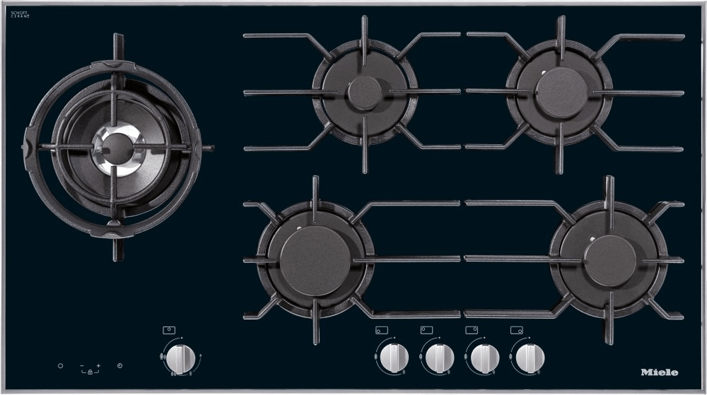 MieleKm 3054 G - Gas Cooktop With Electronic Functions For Maximum Safety And User Convenience.