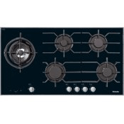 KM 3054 G - Gas cooktop with electronic functions for maximum safety and user convenience.