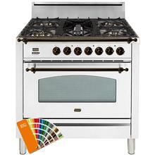 36 Inch Custom RAL Color Liquid Propane Freestanding Range