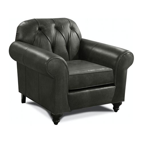 8N04LS Evan Leather Chair