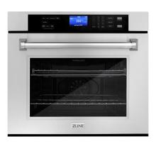 View Product - ZLINE 30 in. Professional Single Wall Oven with Self Clean (AWS-30) [Color: Stainless Steel]