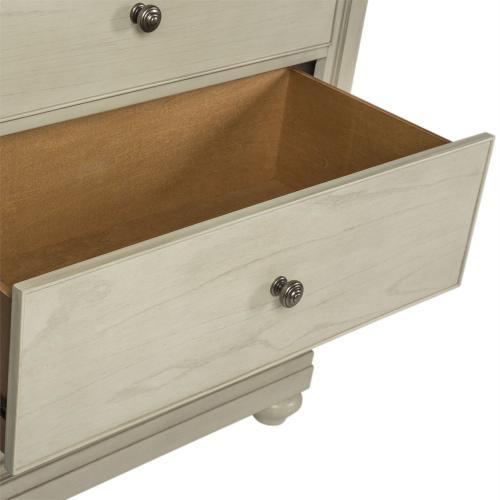 Queen Poster Bed, Dresser & Mirror, Night Stand