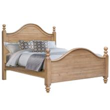 King Bed Frame - Vintage Casual