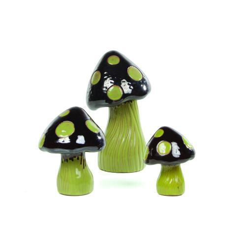 Alfresco Home - Whimsical Garden Shrooms (S/2 Lg, 4 Md,6 Sm)