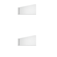 """View Product - TRIM PARTS ONLY External parts for thermostatic with single volume control Single backplate 1/2"""" connections Three-way div erter with ceramic plates Vertical/Horizontal application Anti-scalding Requires in-wall rough valve 09279"""