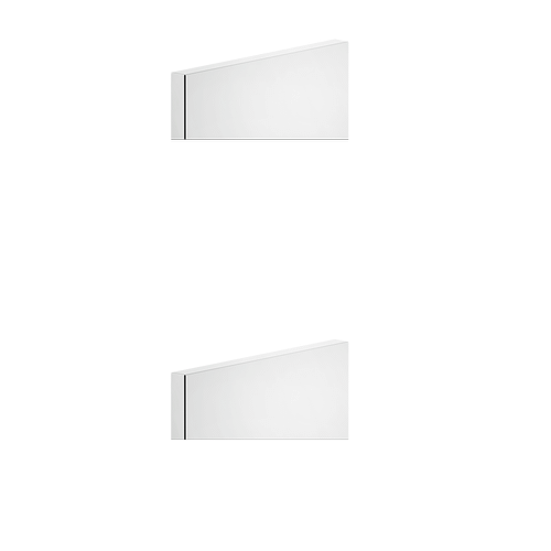 """Gessi - TRIM PARTS ONLY External parts for thermostatic with single volume control Single backplate 1/2"""" connections Three-way div erter with ceramic plates Vertical/Horizontal application Anti-scalding Requires in-wall rough valve 09279"""