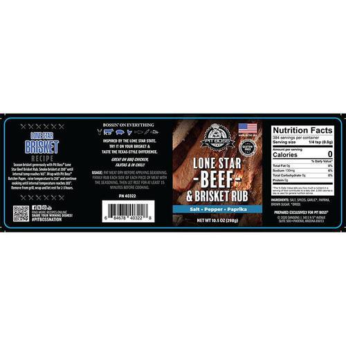 Pit Boss - 11.5oz Lonestar Beef Brisket Rub