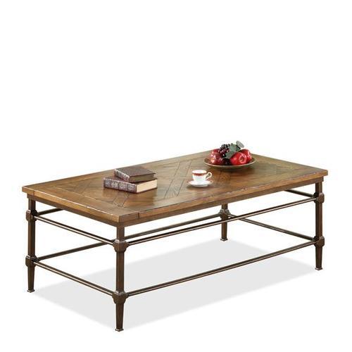 Casa Grande Rectangular Coffee Table Saltillo Ash finish