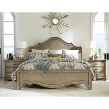 See Details - Corinne - Full/queen Curved Panel Headboard - Sun-drenched Acacia Finish