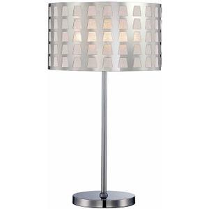 Table Lamp, Chrome, E27 Type Cfl 23w