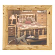 "Mitered Mirror Frame - 32"" x 36"" - Natural Cedar"