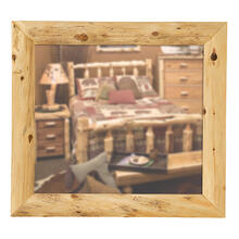 "Mitered Mirror Frame - 36"" x 36"" - Natural Cedar"