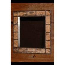342 Birch Bark Mirror