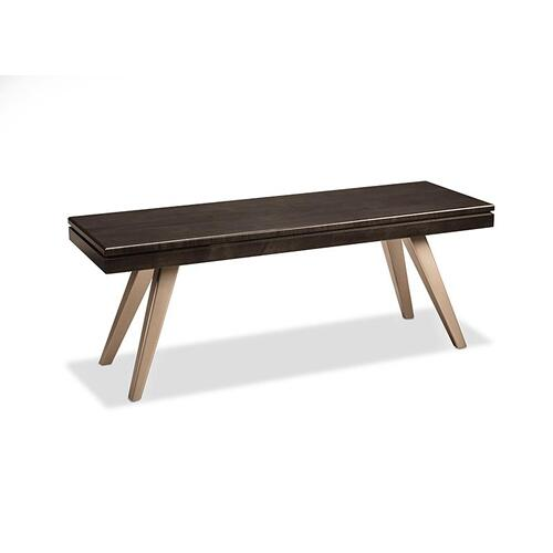 "- Laguna 48"" Bench with Wood Seat"