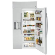 "GE Profile™ Series 42"" Built-In Side-by-Side Refrigerator with Dispenser OPEN BOX FLOOR MODEL 1 ONLY"