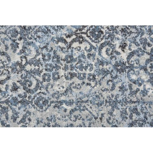 Feizy - AINSLEY 3900F IN BLUE - CHARCOAL