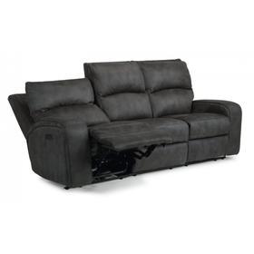 Nirvana Power Reclining Sofa with Power Headrests