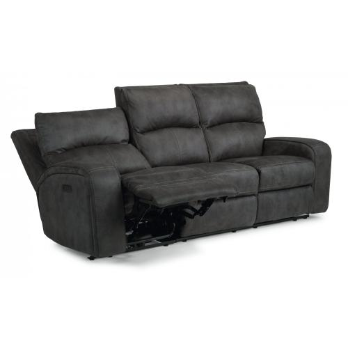 Nirvana Power Reclining Sofa with Power Headrests