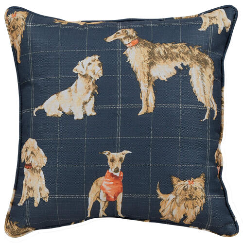 Dog Daze Pushback Recliner with Matching Pillows