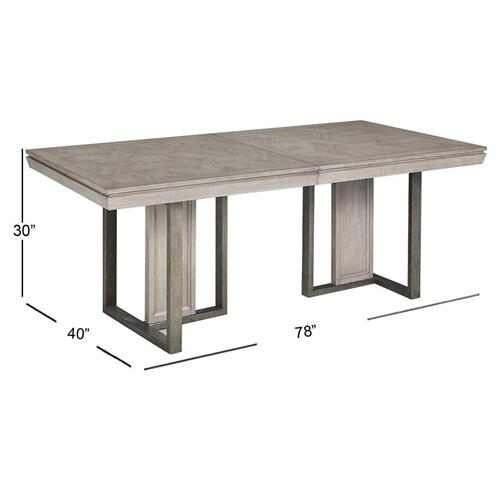 Magnussen Home - Double Pedestal Table