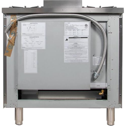 36 Inch Stainless Steel Liquid Propane Freestanding Range