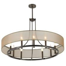 "Ghost 36"" Chandelier - Architectural Bronze"