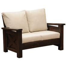 Loveseat - WoodShop Stains - Standard Fabric