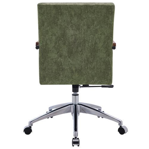 Tobin KD Fabric Office Chair, Smash Green