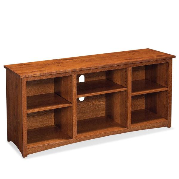 """See Details - San Miguel TV Console with No Doors, 54""""w x 18 """"d x 28 """"h"""