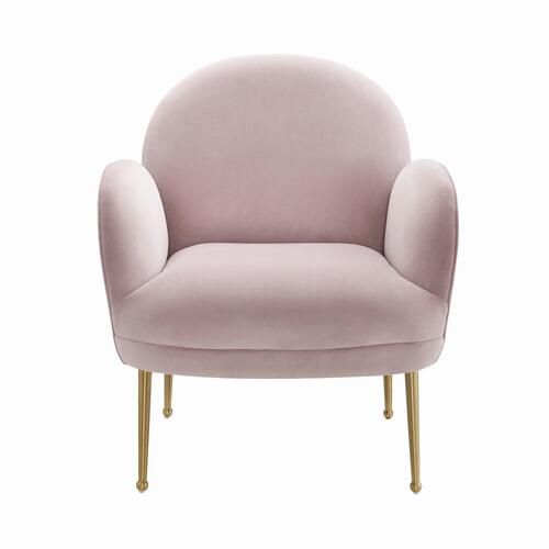 Gwen Mauve Velvet Chair