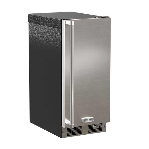 15-In Professional Built-In Clear Ice Machine With Pump with Door Style - Stainless Steel, Door Swing - Right, Pump - Yes