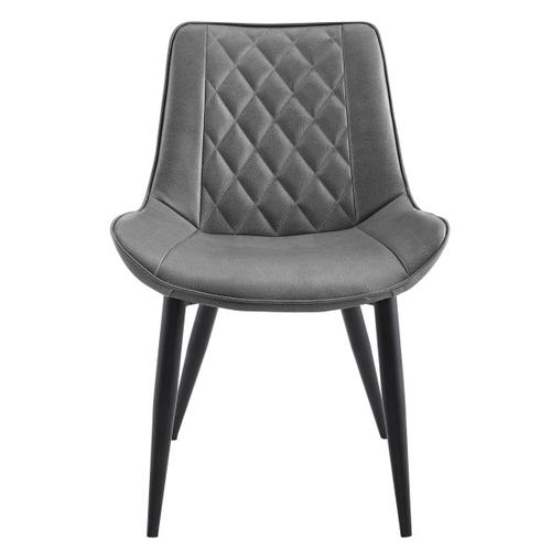 Modern Quilted Back Accent Chair