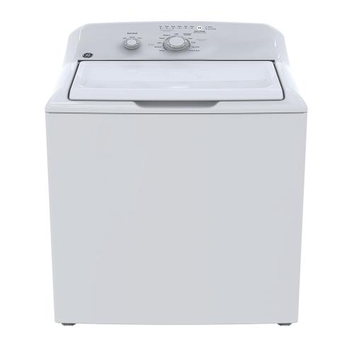 GE® 4.4 cu.ft. (IEC) Capacity Stainless Steel Basket Washer White - GTW302BMPWW