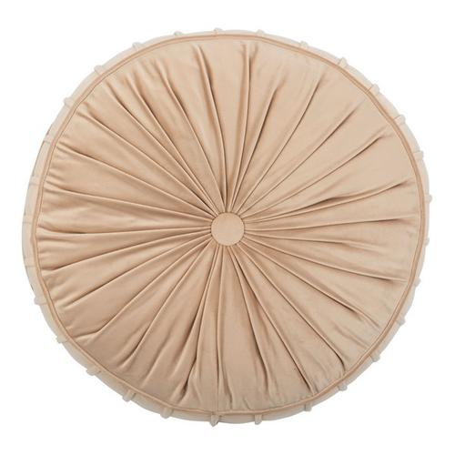 Clary Floor Pillow - Champagne