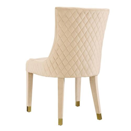Tov Furniture - Diamond Cream Dining Chair (Set of 2)