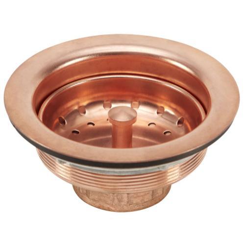 Polished Copper Basket Strainer